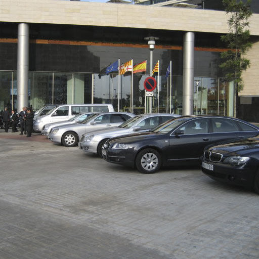 coches de LimusineCC en un congreso