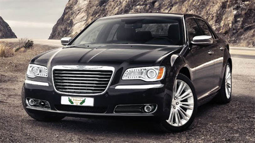 Chrysler 300C Rental with driver VTC in Spain