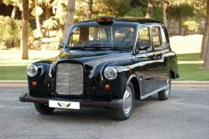 Taxi Inglés de Alquiler con Conductor