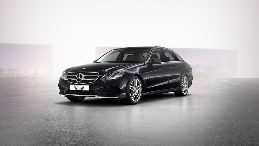 Mercedes E Class Rental with Driver VTC in Spain
