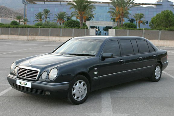 Mercedes Limousine Bifaro Rental with Driver VTC