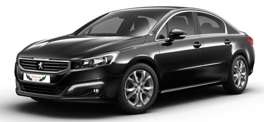 Peugeot 508 Rental with Driver VTC in Spain