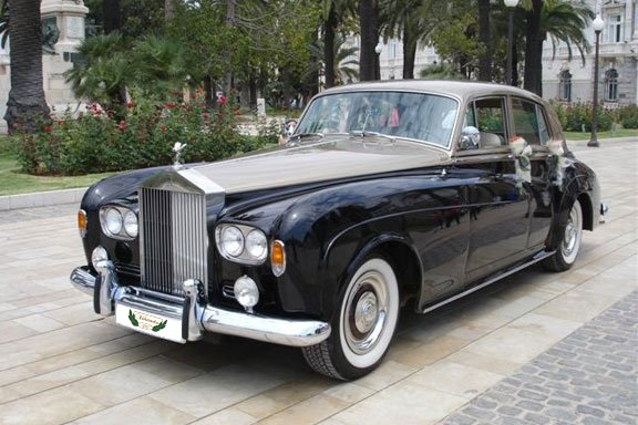 Rolls Royce Silver Cloud de Alquiler con Conductor VTC