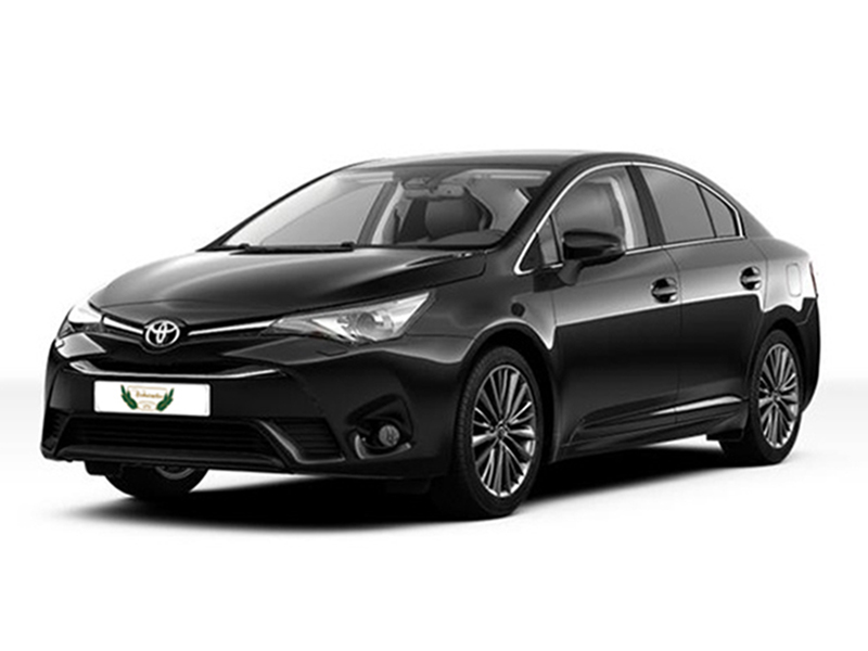 Toyota Avensis Rental with Driver VTC