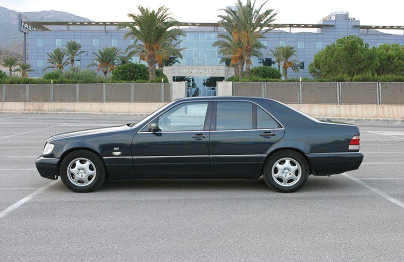 Mercedes Classe S (140) avec Chauffeur VTC en Espagne
