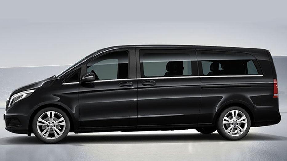 Mercedes V Class Rental with Driver VTC in Spain