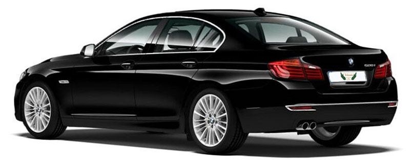 BMW 5 Series Rental with Driver VTC in Spain
