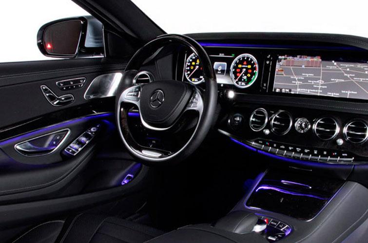 Mercedes Clase S de Alquiler con Conductor – Coches de Alquiler en España