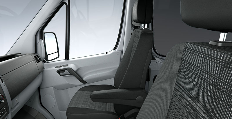 Mercedes Sprinter de Alquiler con Conductor VTC