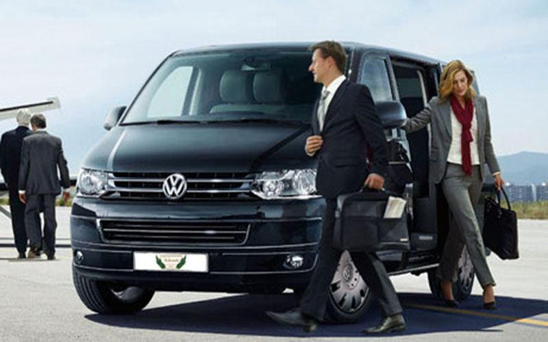 Volkswagen Caravelle Rental with Driver VTC in Spain