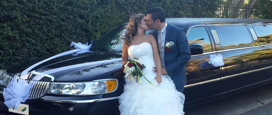 Limusina para tu boda