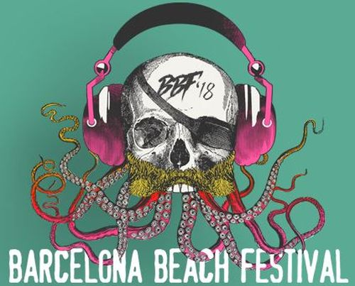 Logotipo Barcelona Beach Festival 2018