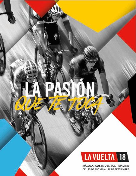 cartel vuelta ciclista españa 2018