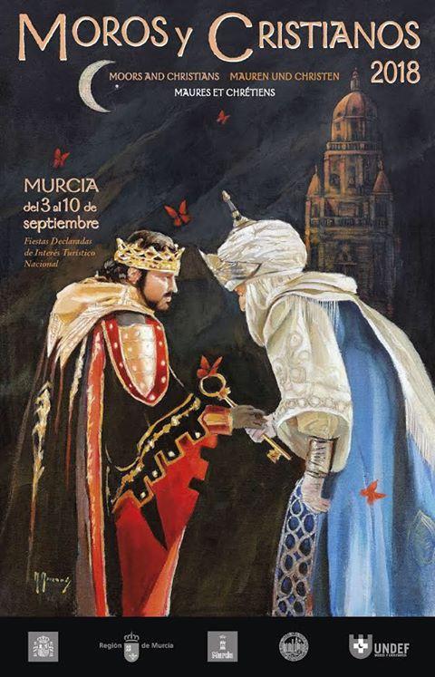 cartel Moros y Cristianos Murcia 2018