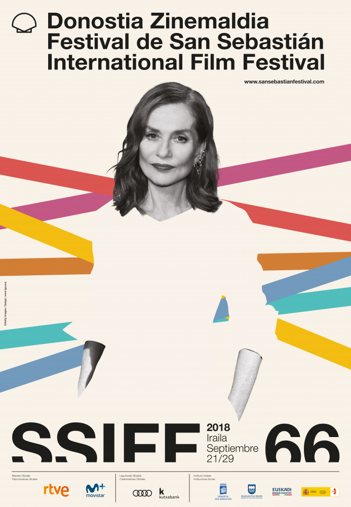 cartel Festival de Cine de San Sebastian 2018