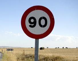 destacada limite velocidad