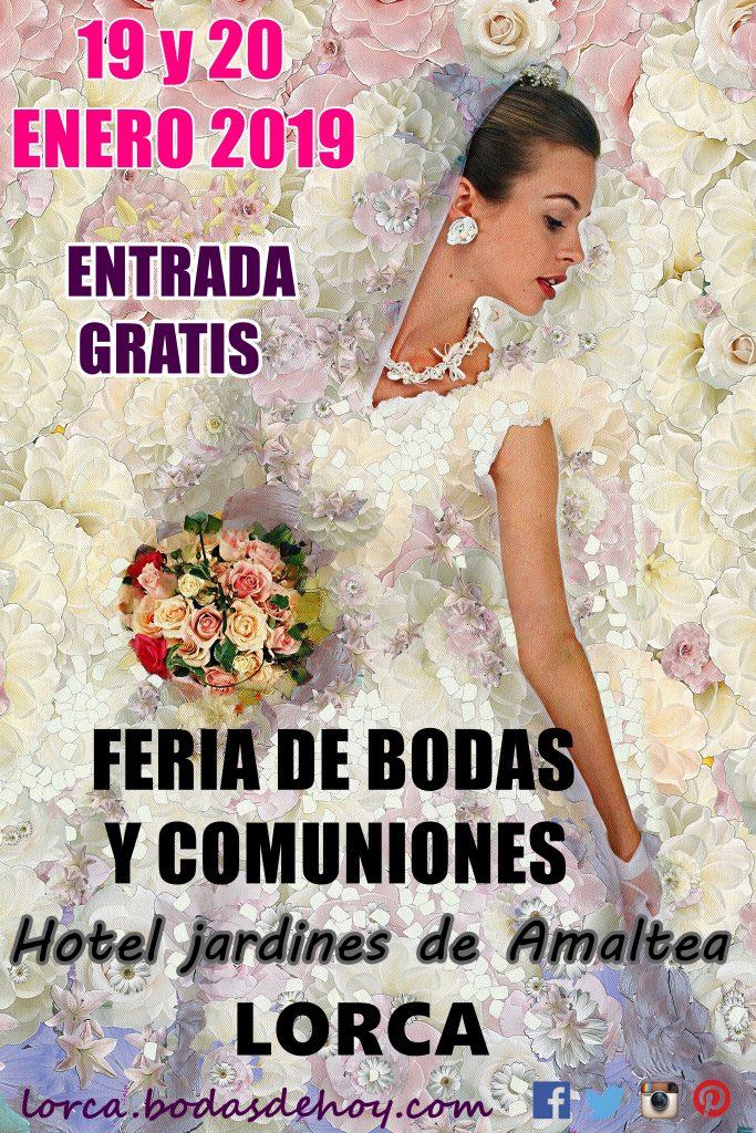 cartel feria bodas de lorca