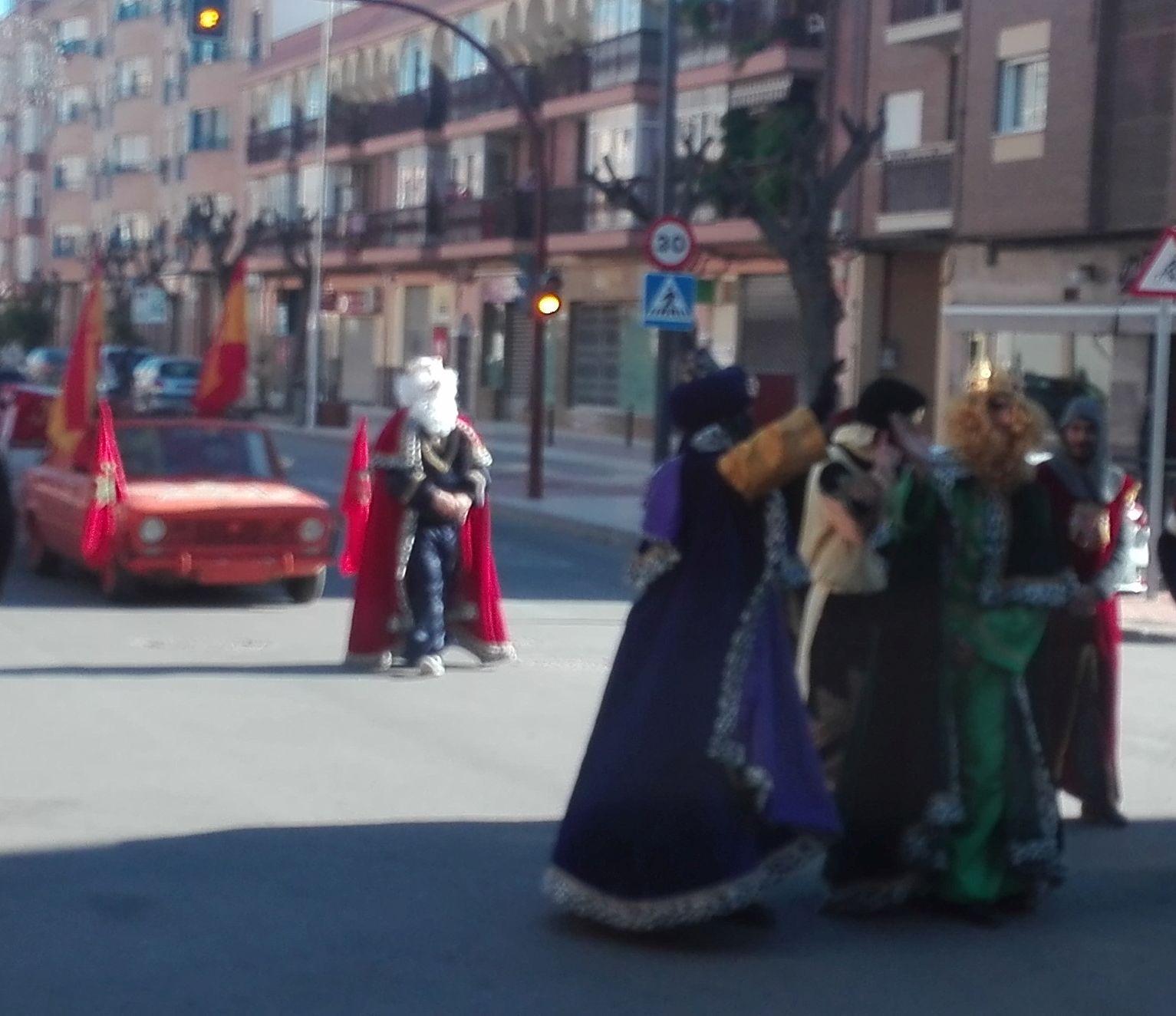 Reyes Magos Lorca