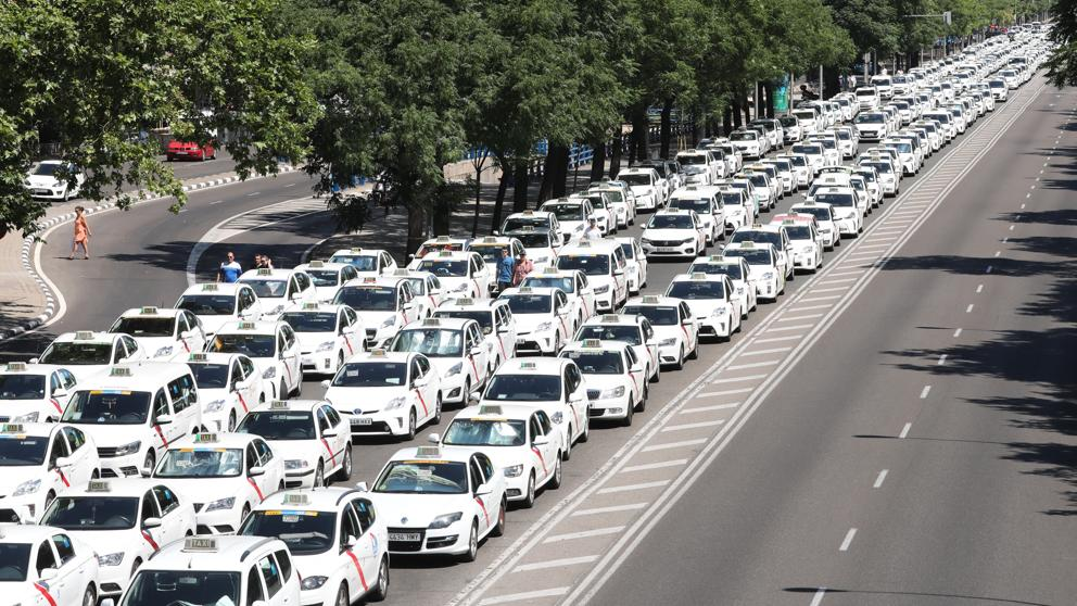 taxis en Madrid