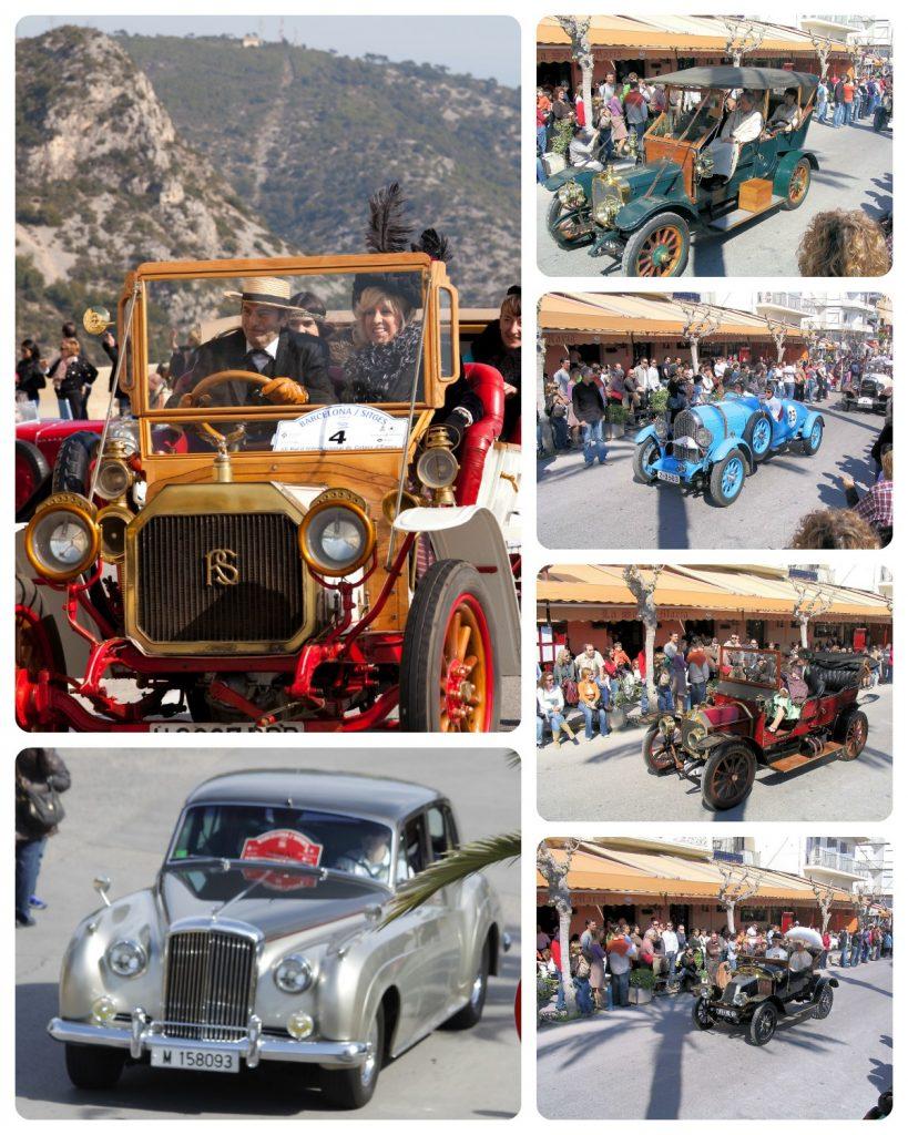 rally coches epoca barcelona